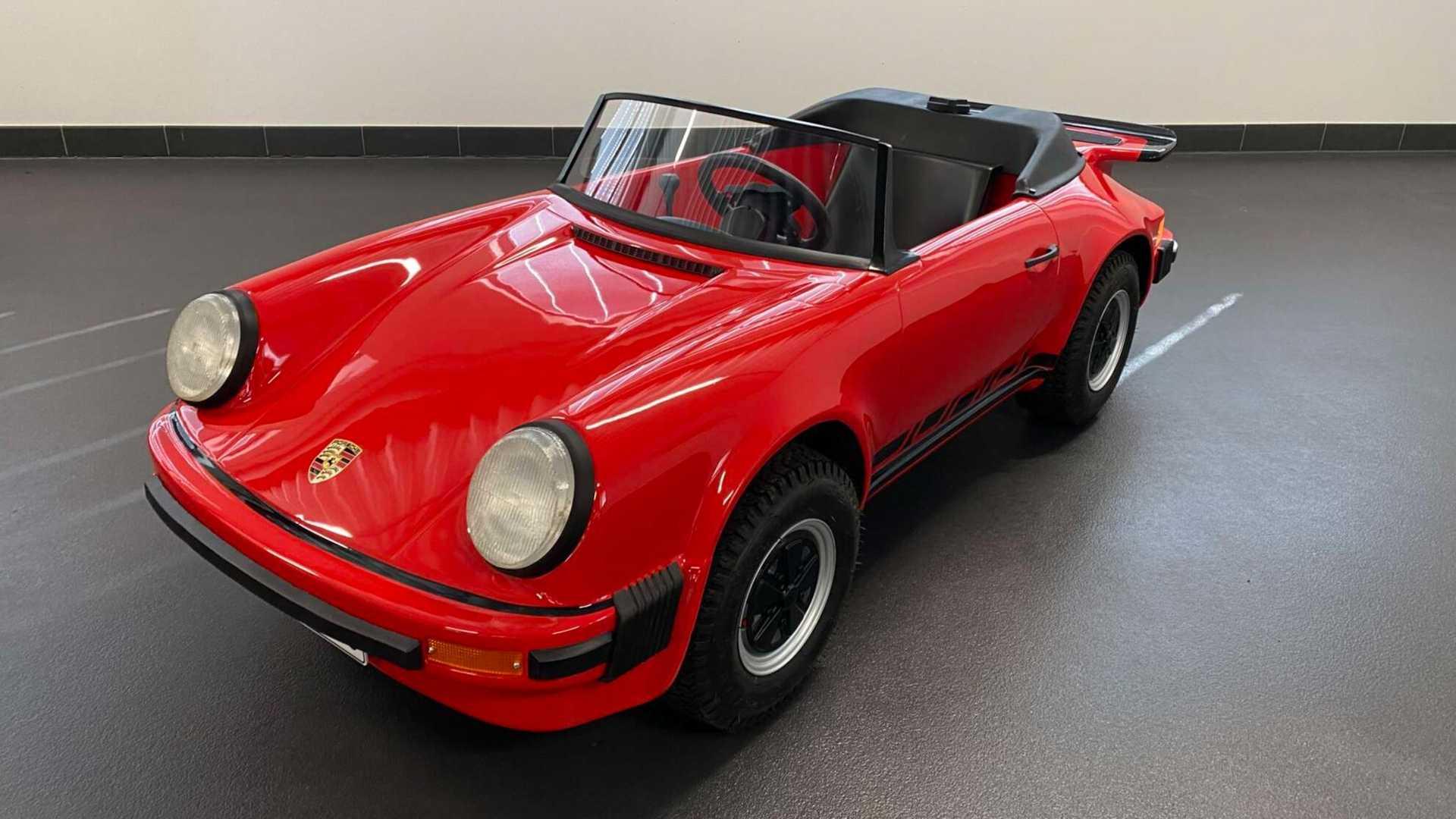 Porsche-911-Cabriolet-Junior-Go-Kart-1983-1
