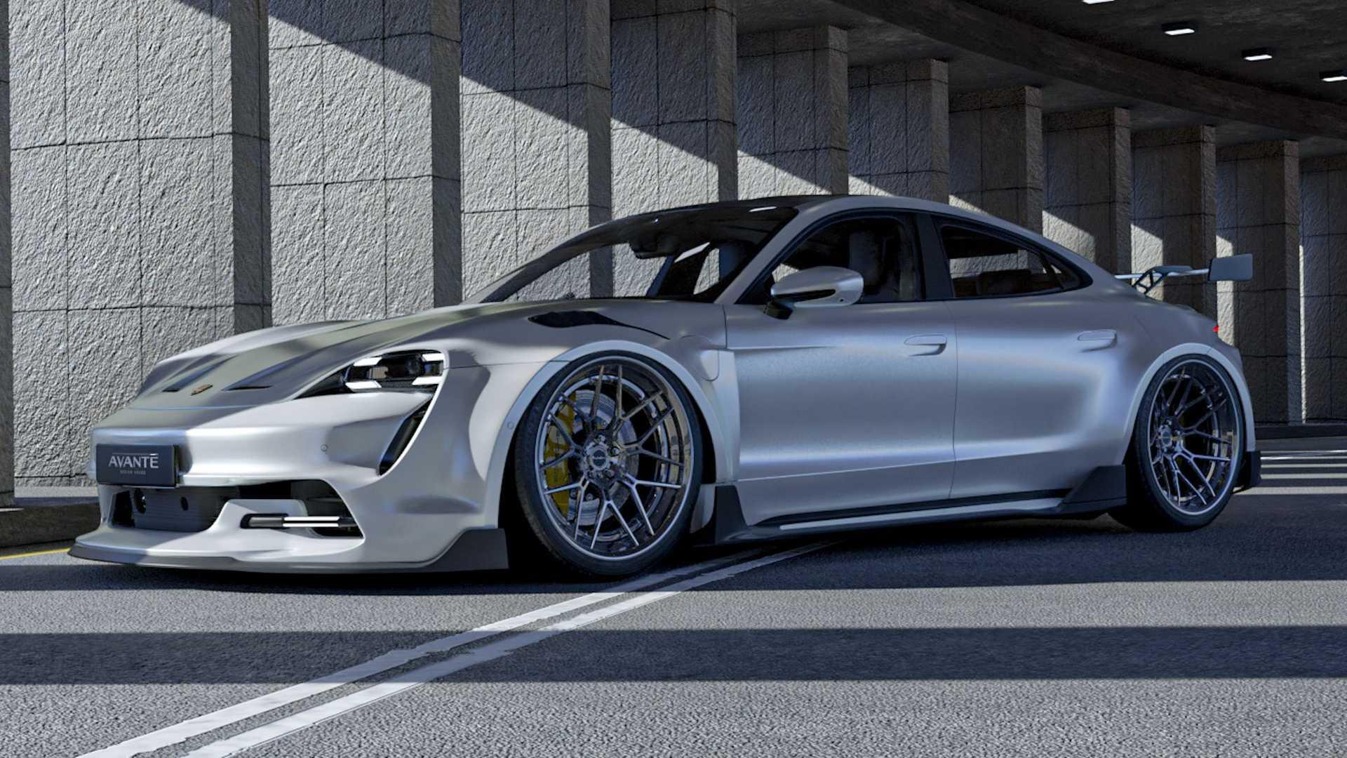 Porsche-Taycan-by-Avante-Design-1