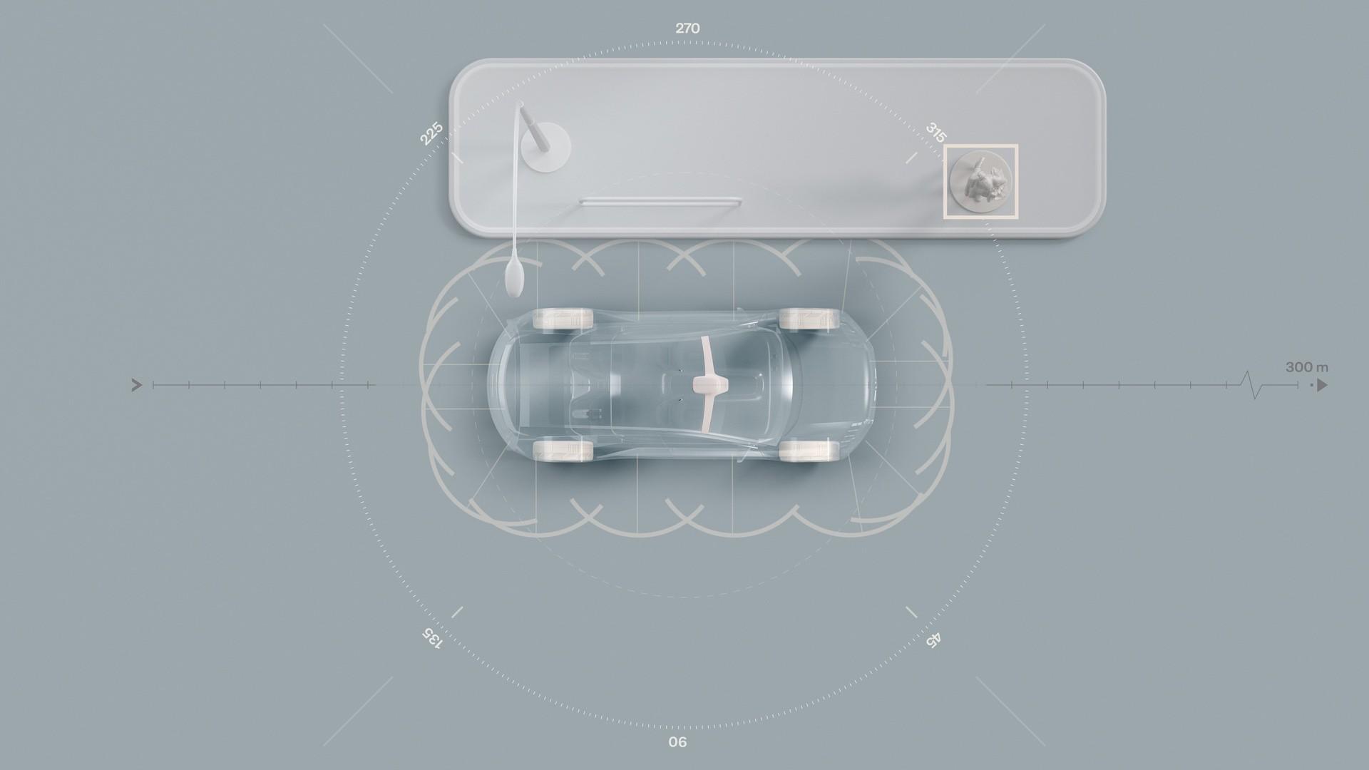 Sensors on electric successor to XC90 – Ultrasonics