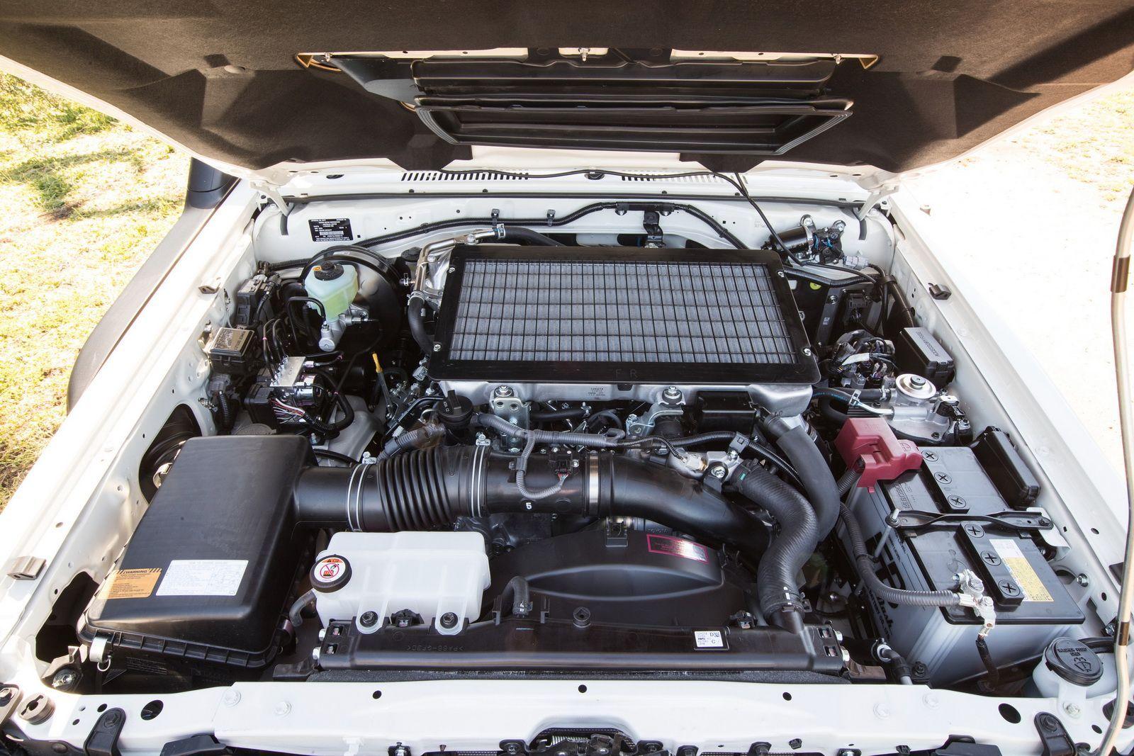 2016 Toyota LandCruiser 70 Series engine