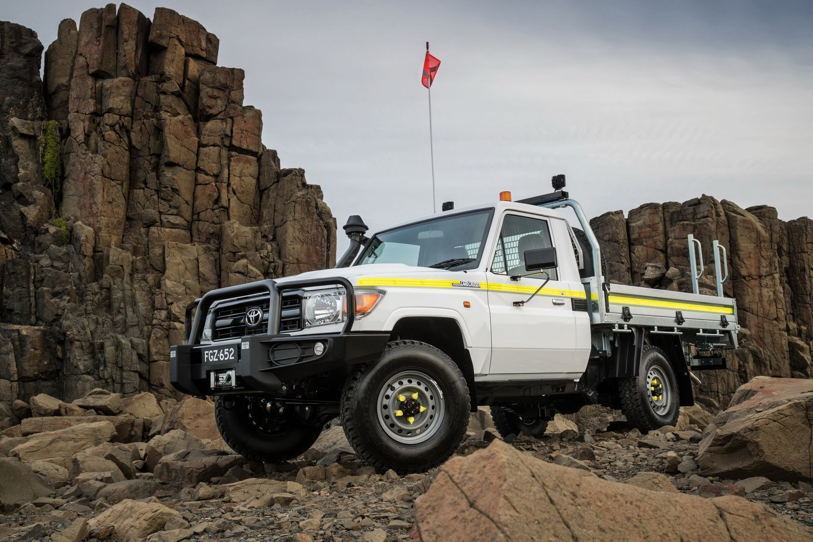 2016 Toyota LandCruiser 70 Series Single Cab Chassis with Toyota Genuine Industry Accessories
