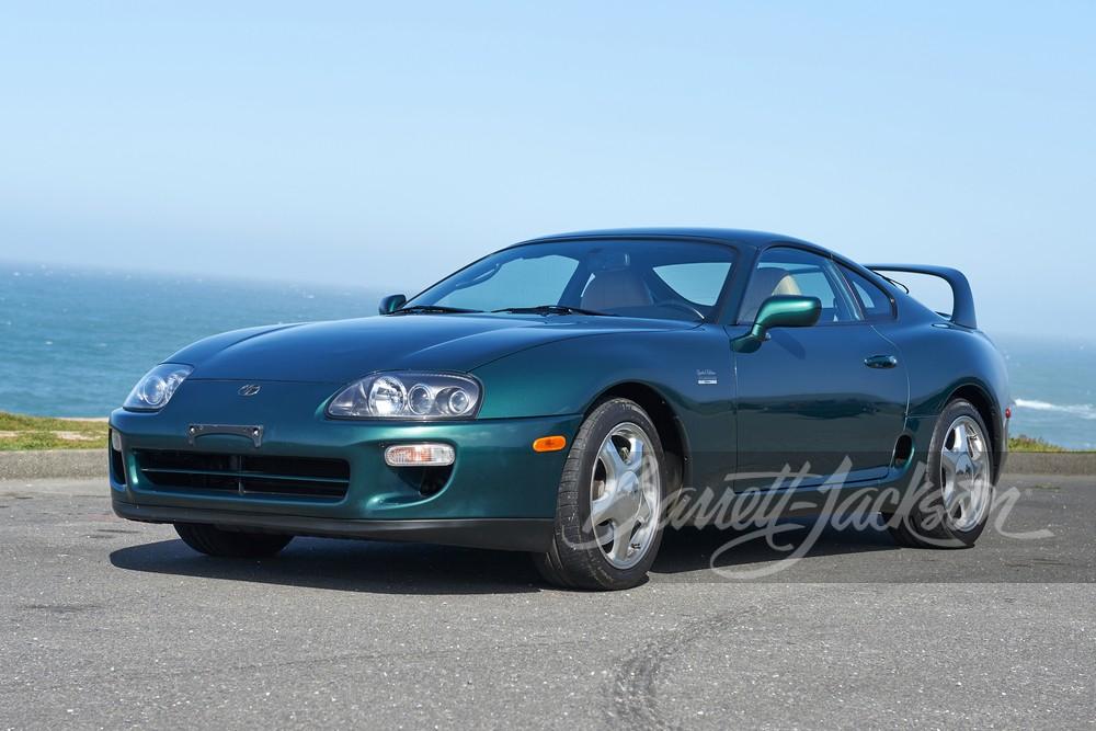 Toyota-Supra-1997-anniversary-auction-1
