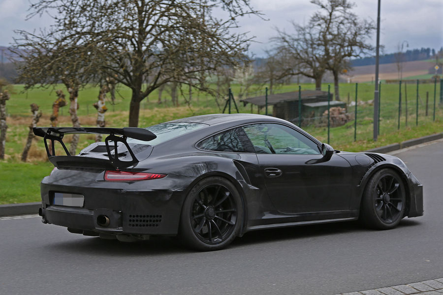Porsche 911 GT3 RS 4.2 spy photos (11)
