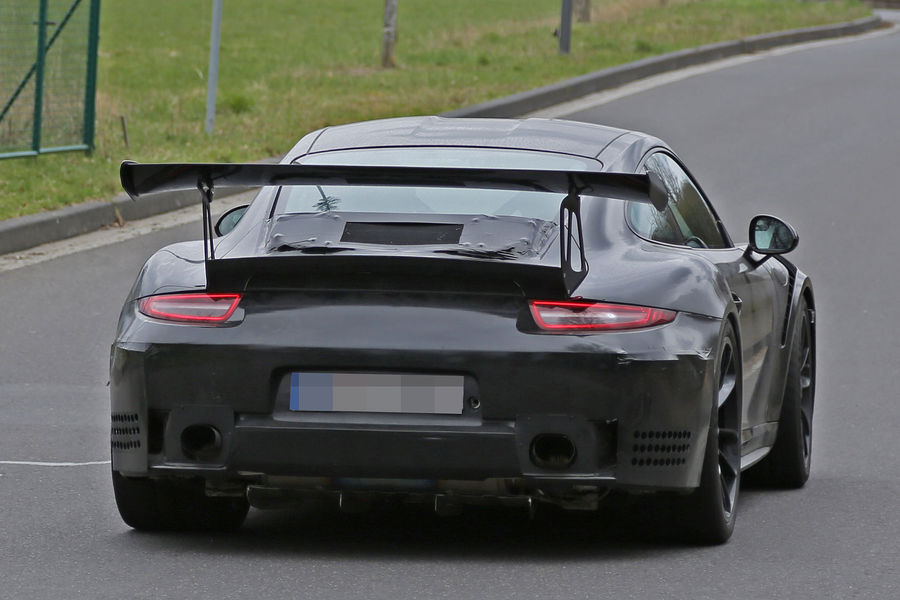 Porsche 911 GT3 RS 4.2 spy photos (13)