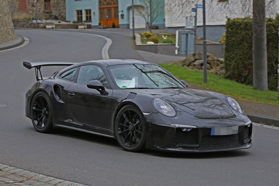 Porsche 911 GT3 RS 4.2 spy photos (9)