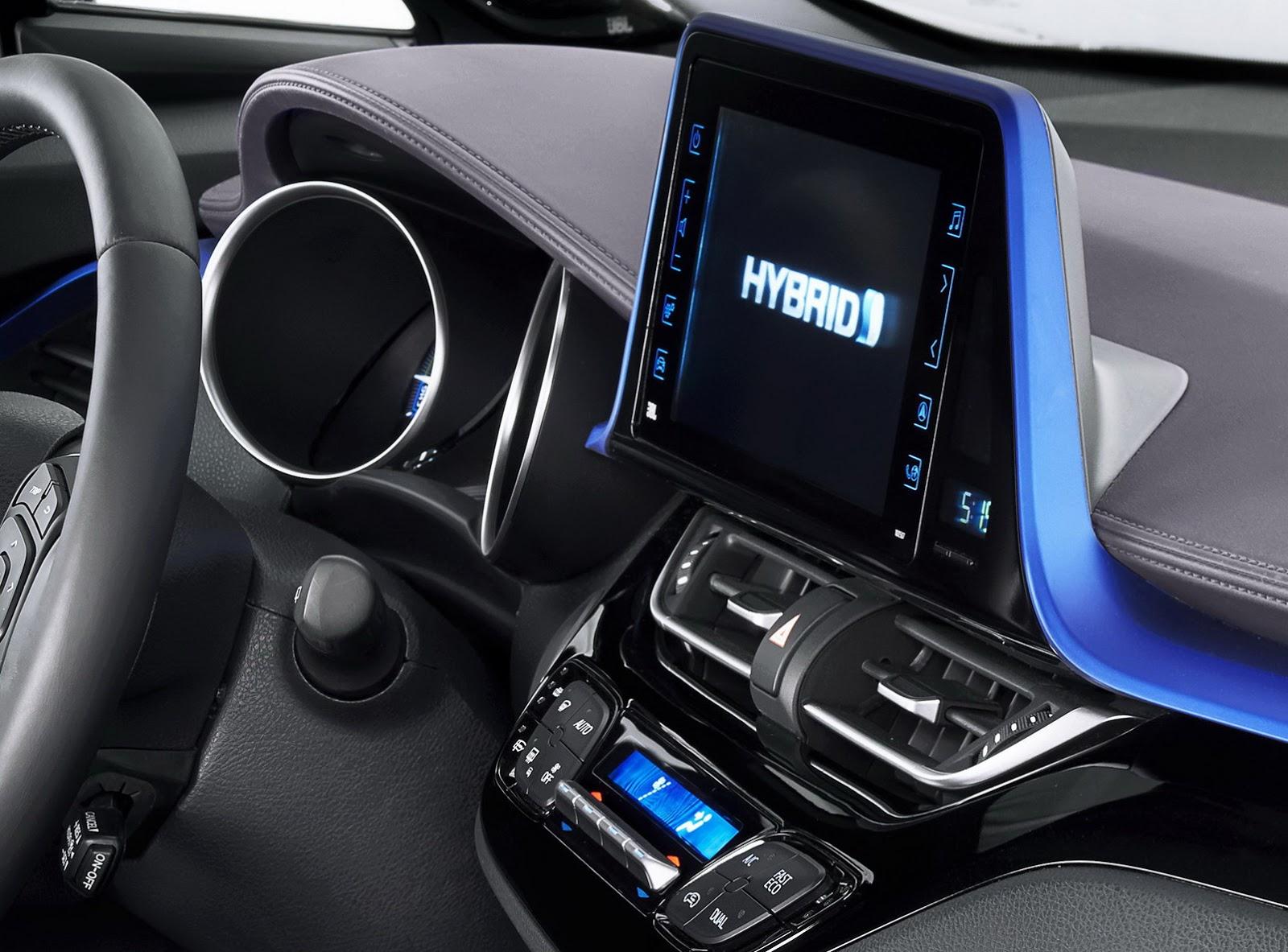 Toyota c hr for Hr design interiors