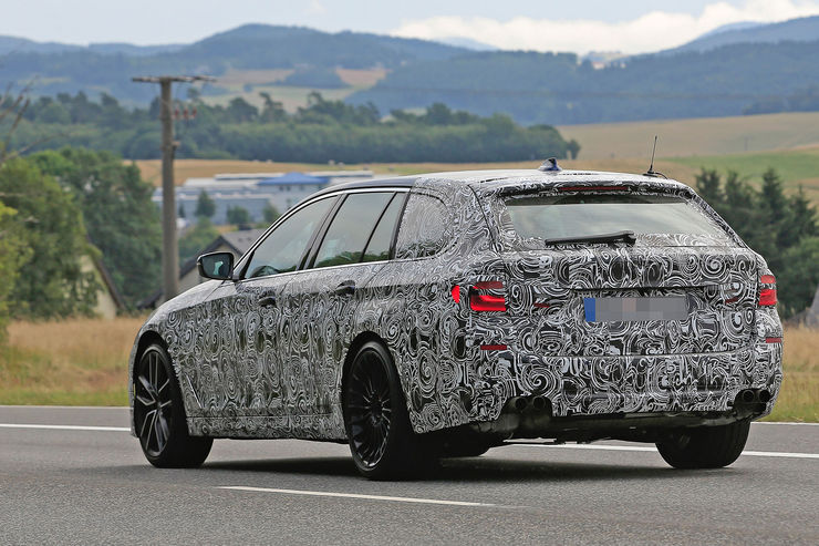 Alpina B5 Biturbo 2018 spy photos (1)
