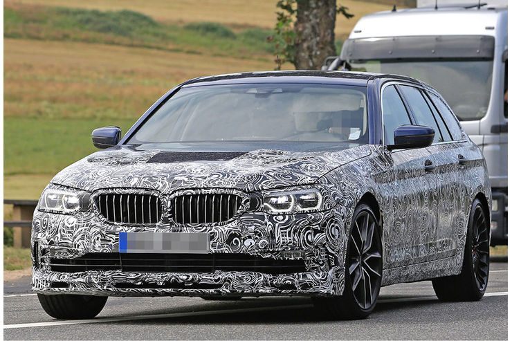 Alpina B5 Biturbo 2018 spy photos (2)