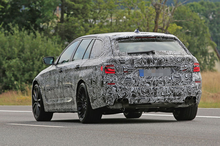 Alpina B5 Biturbo 2018 spy photos (4)