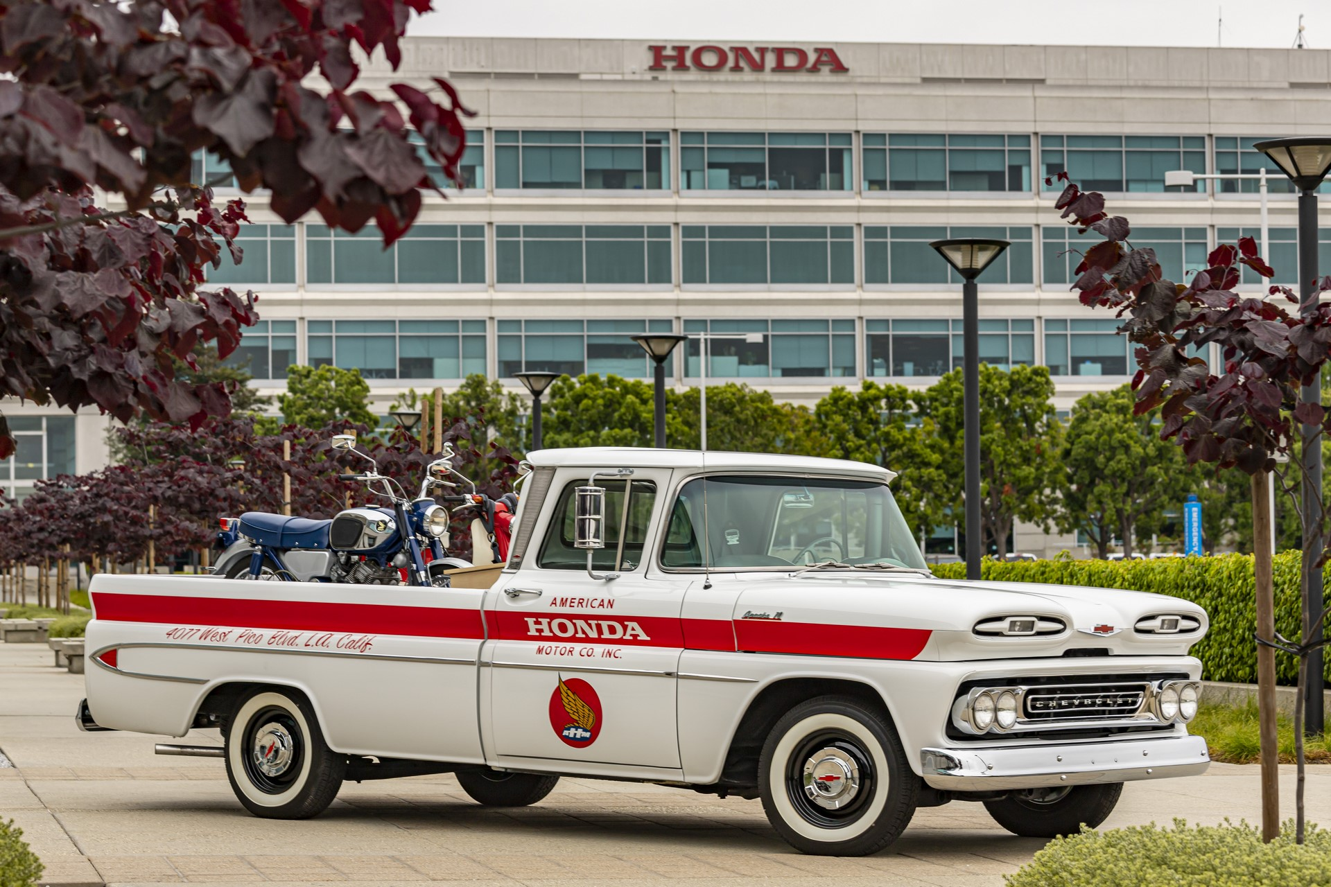 American Honda 60th Anniversary Chevy Delivery Truck