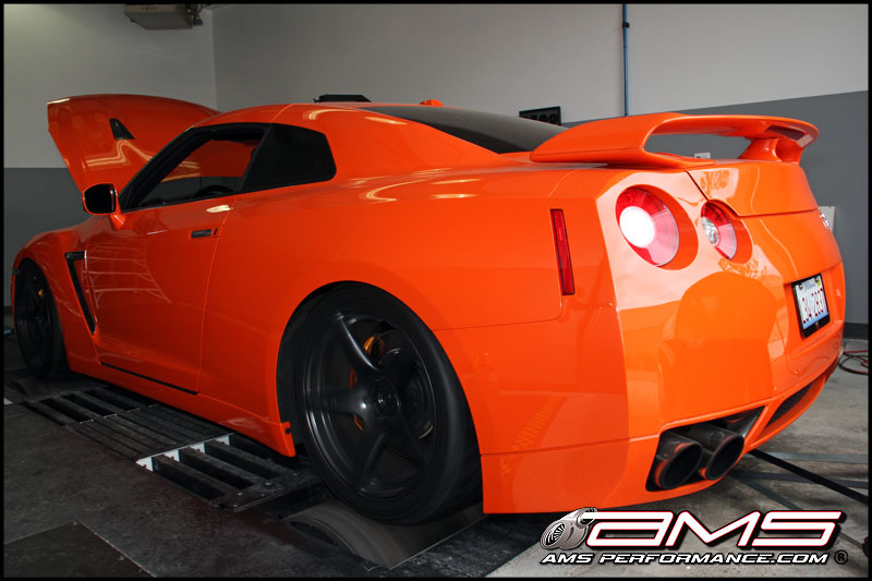 ams nissan gt r alpha 10 agent orange 1000. Black Bedroom Furniture Sets. Home Design Ideas
