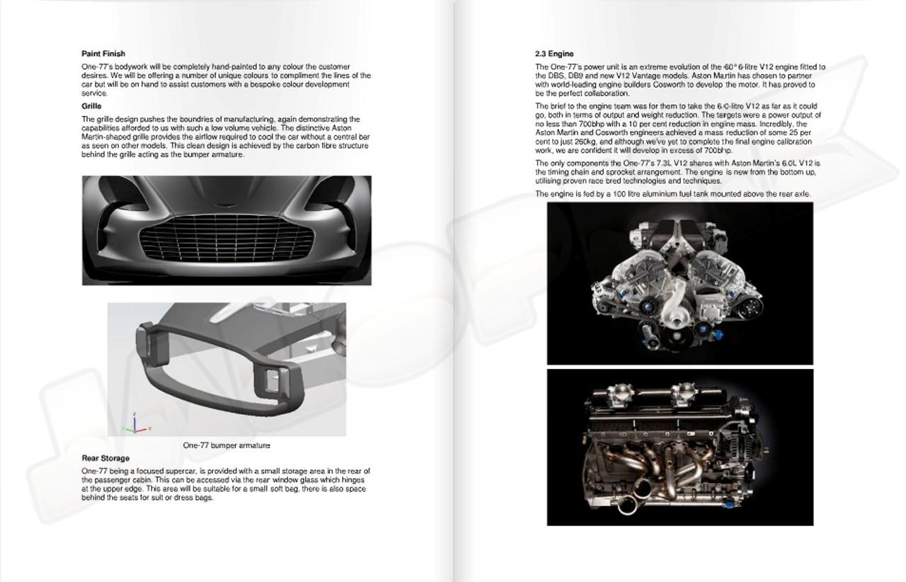 Διέρρευσε το pdf της παρουσίασης της Aston on