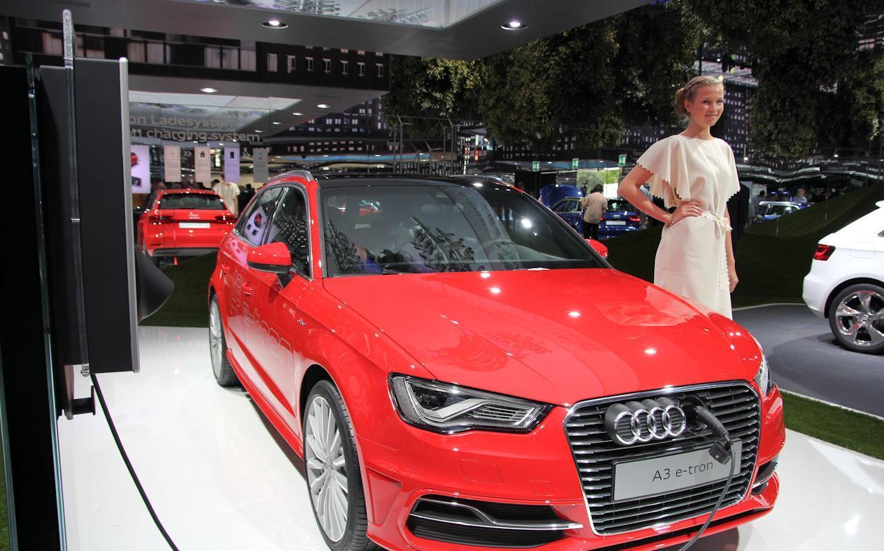 Audi A3 Sportback e-tron Live in Frankfurt Motor Show 2013