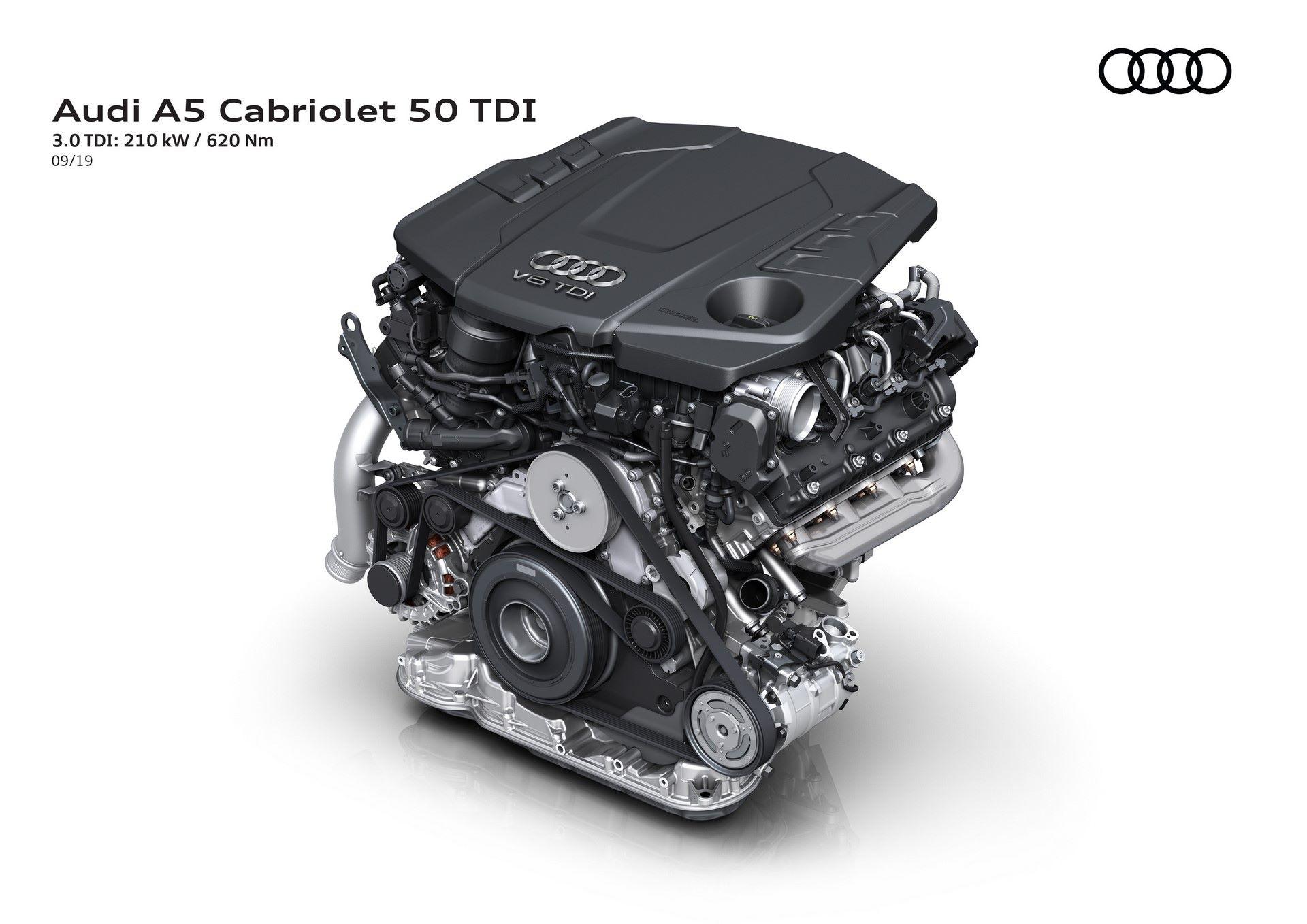 Audi A5 Cabriolet 50 TDI