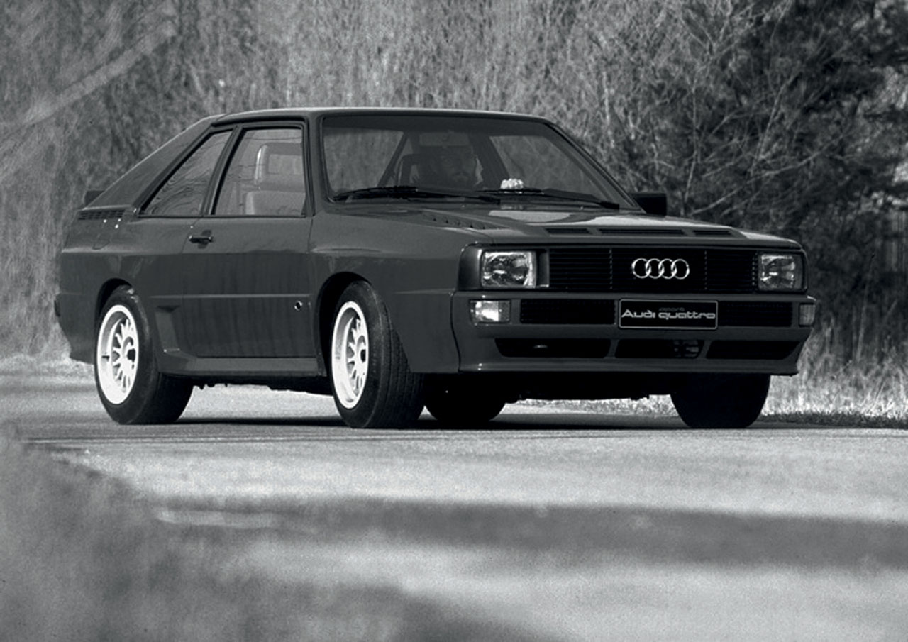 Audi Celebrates 30th Anniversary of quattro