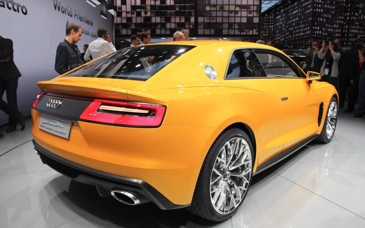Audi Sport Quattro Concept Live in Frankfurt Motor Show 2013