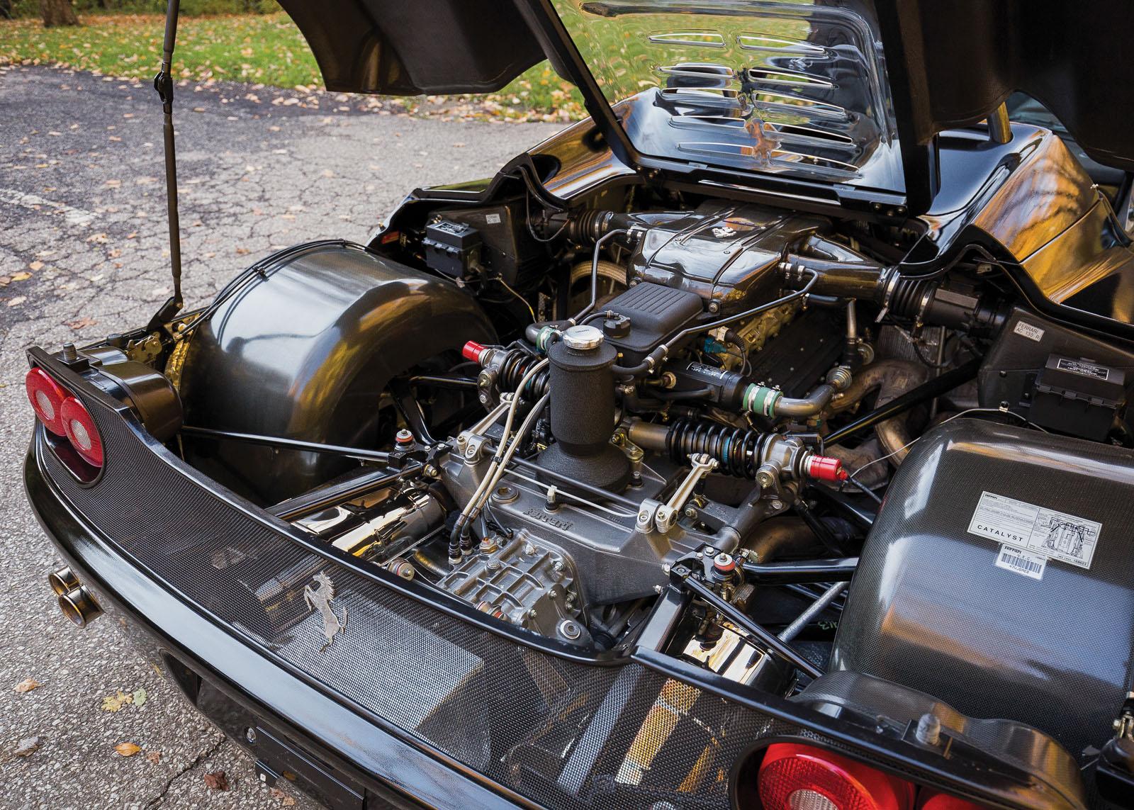 Black Ferrari F50 in auction (12)