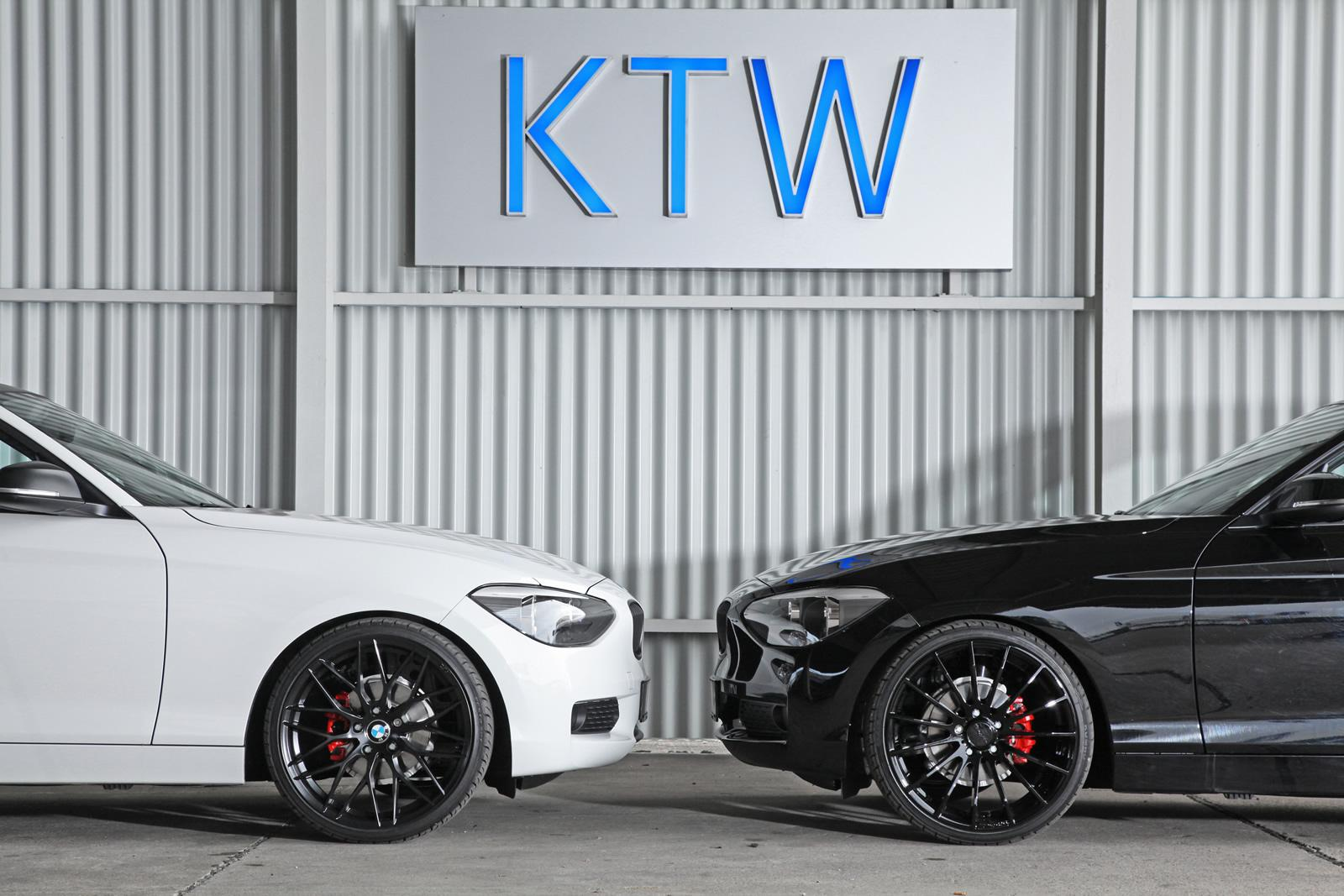 bmw 116i black and white by ktw tuning. Black Bedroom Furniture Sets. Home Design Ideas