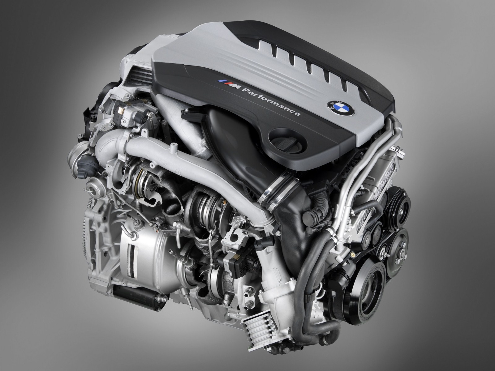 BMW M Performance TwinPower Turbo Engine Six-Cylinder Diesel - (N57S)
