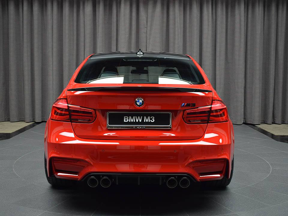 BMW M3 Ferrari Red (19)