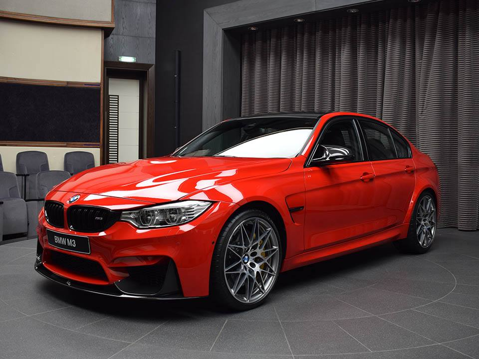 BMW M3 Ferrari Red (2)