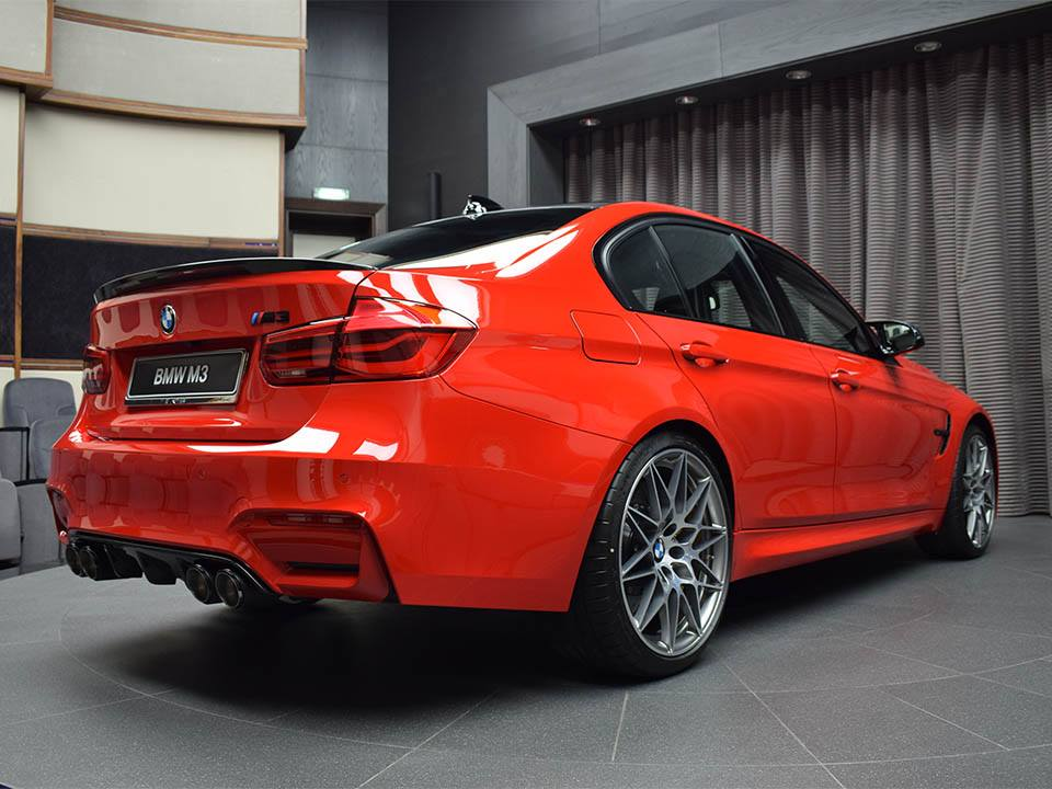 BMW M3 Ferrari Red (23)