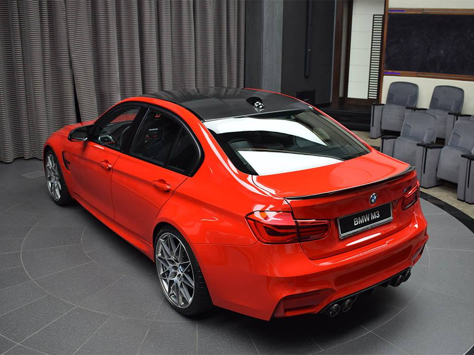 BMW M3 Ferrari Red (26)