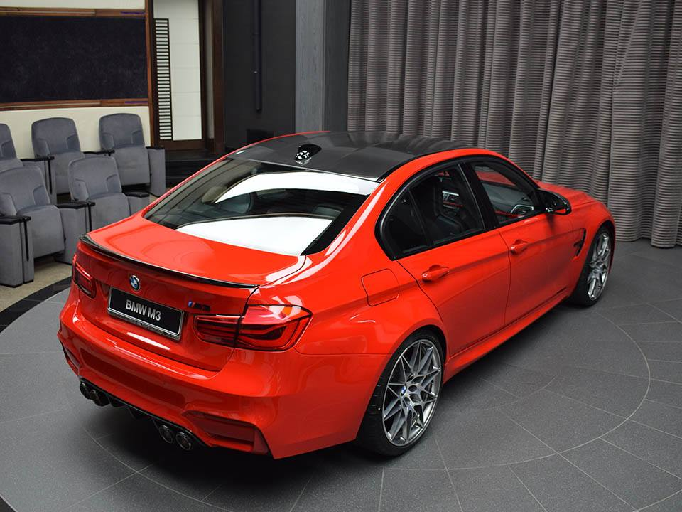 BMW M3 Ferrari Red (27)