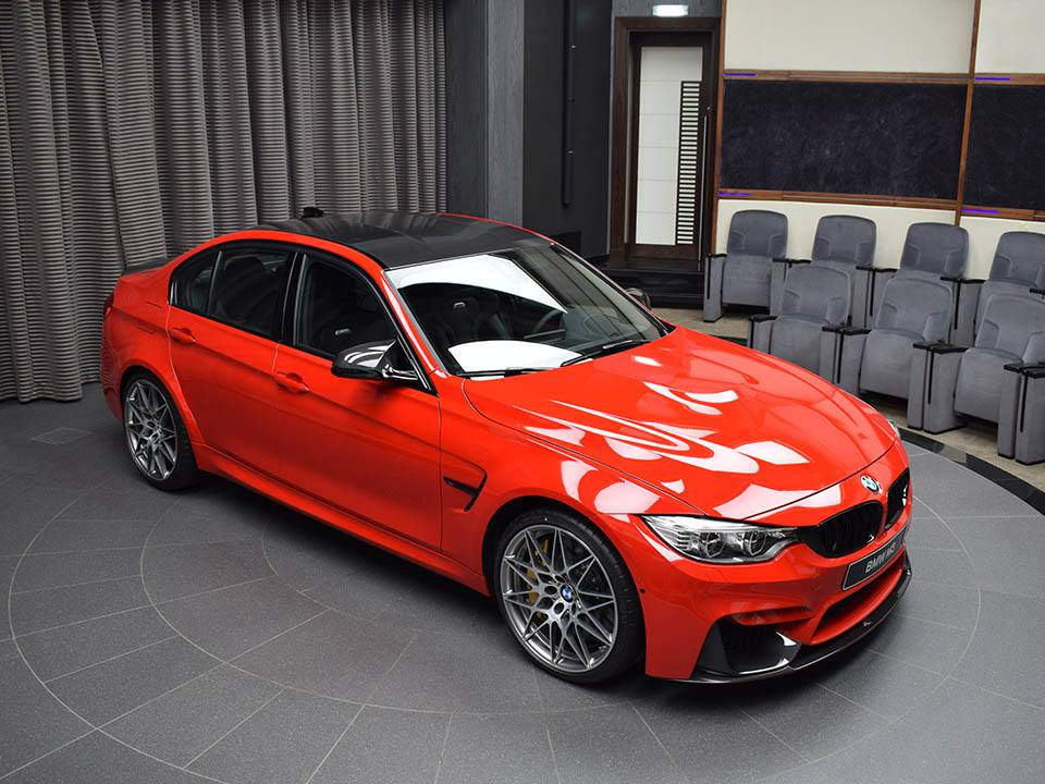 BMW M3 Ferrari Red (3)