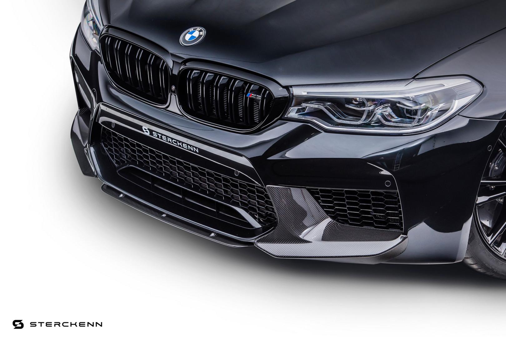 BMW-M5-Black-Grille