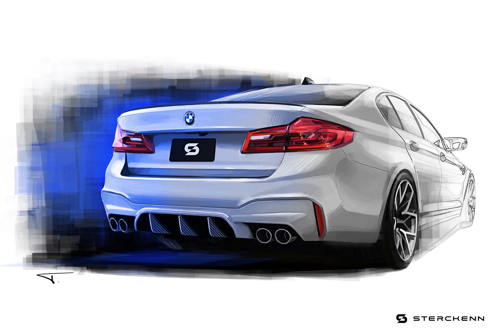 BMW-M5-Rear