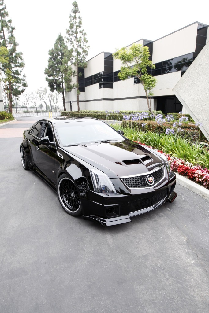 Cadillac Cts V Competition Widebody By D on 2006 Cadillac Cts Performance Upgrades