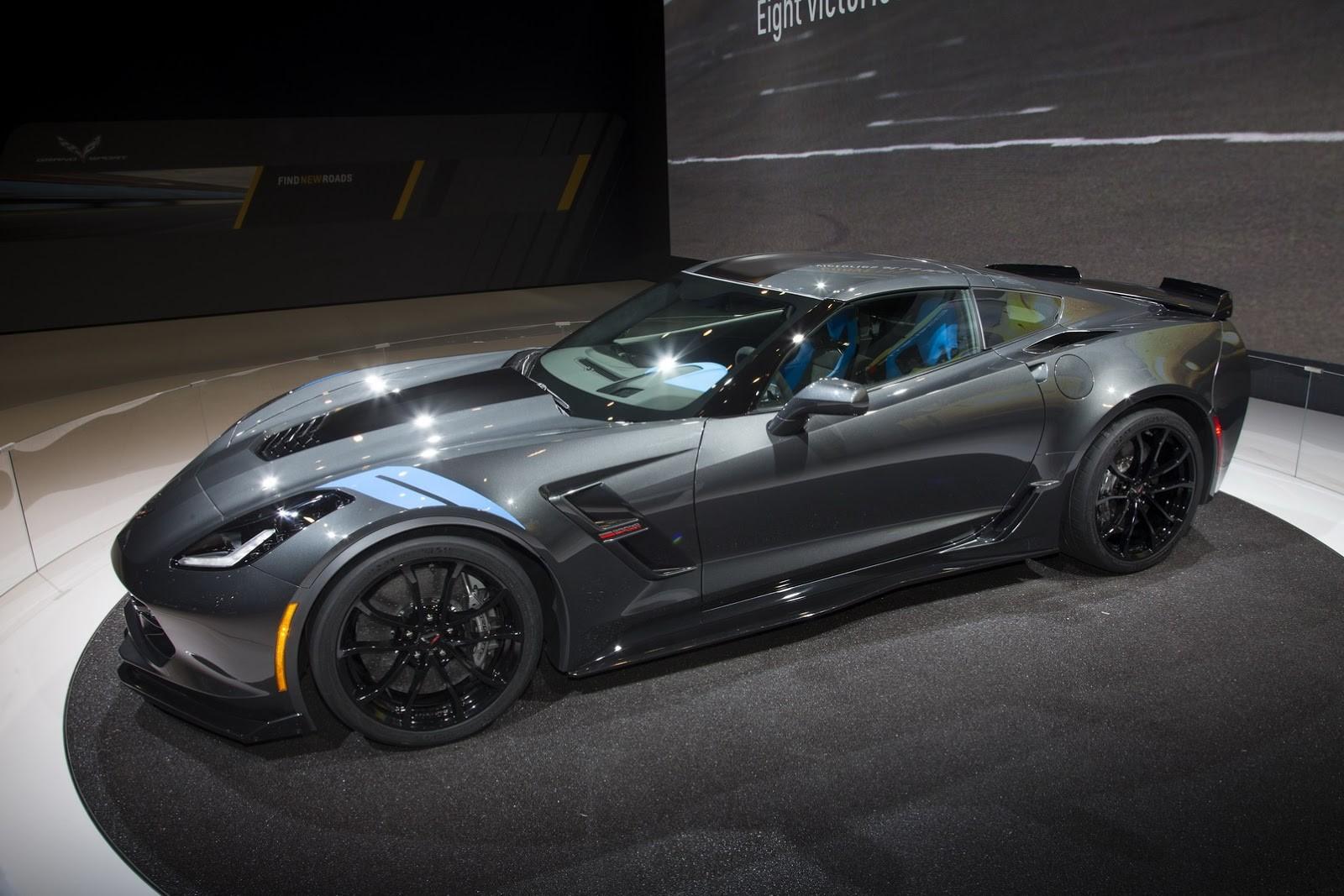 Έ ύ 2016 Chevrolet Corvette Grand Sport Autoblog Gr