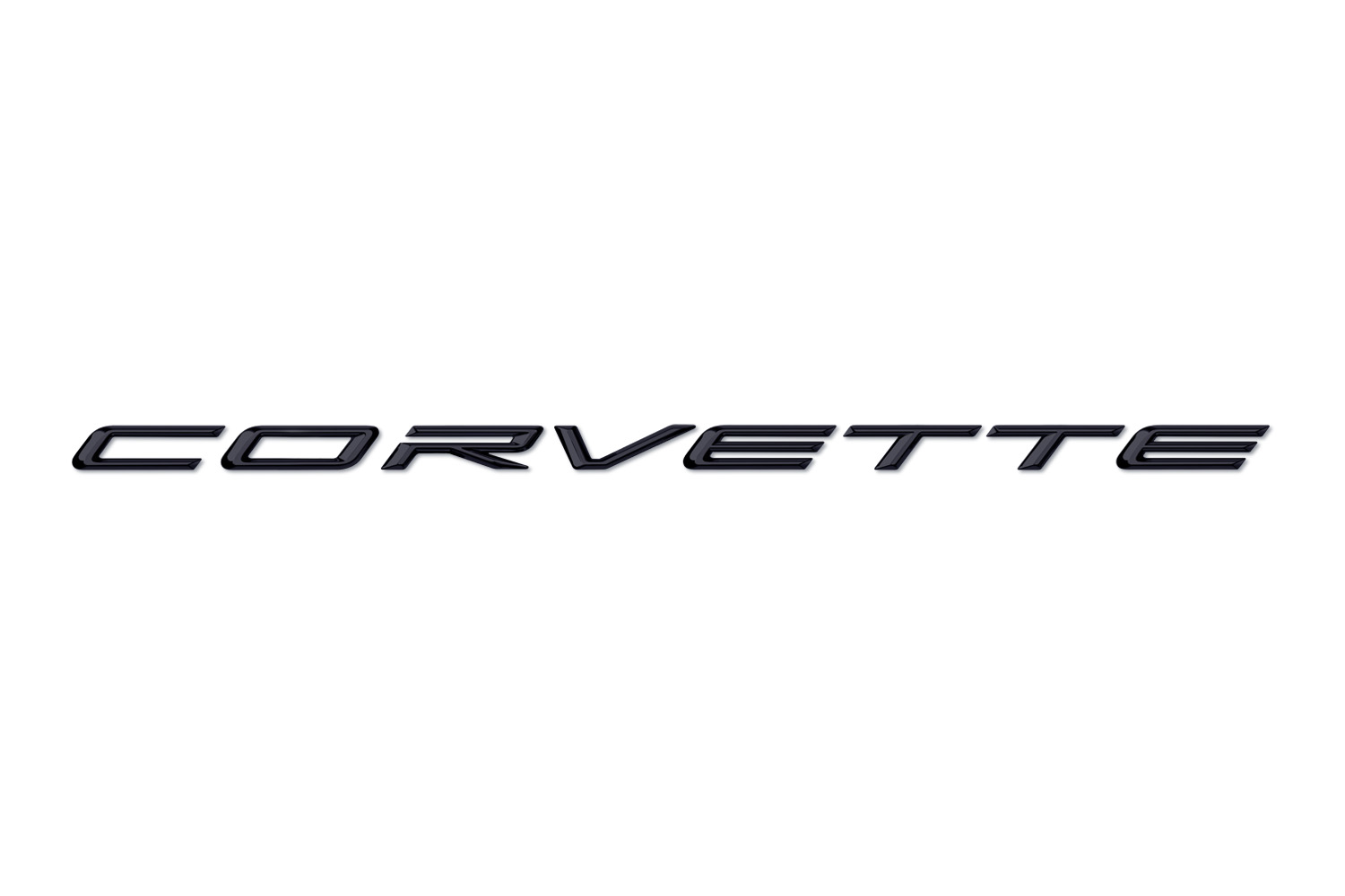 2020 Corvette Signature in Carbon Script on White