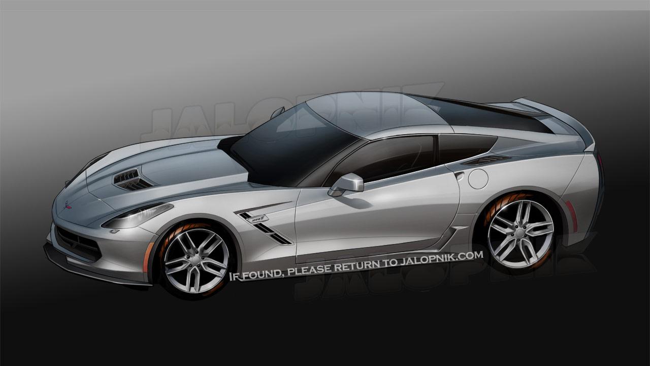 δούμε το πως θα είναι η νέα Corvette C7