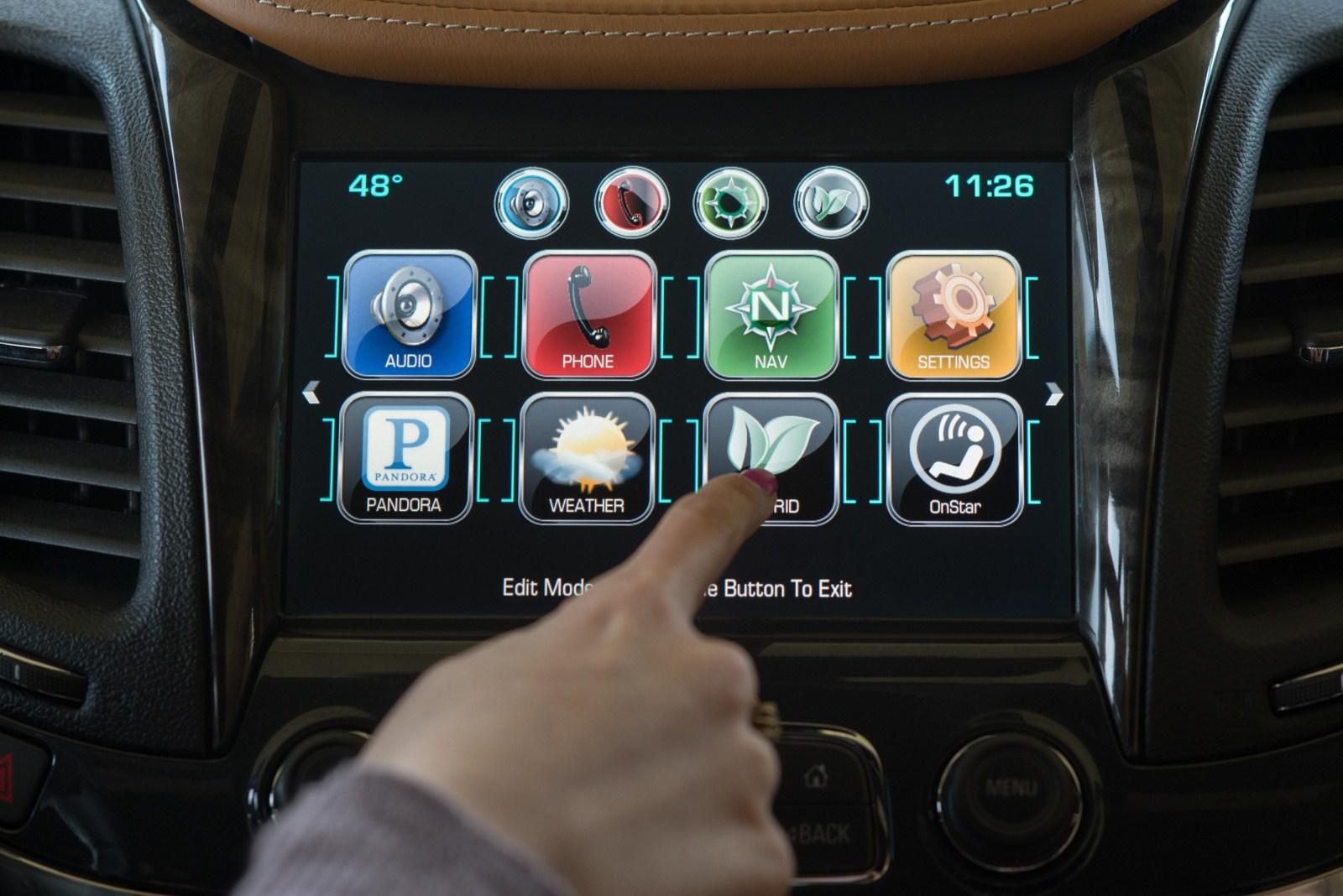 H Chevrolet παρουσίασε το νέο MyLink [w/video] - Autoblog.gr