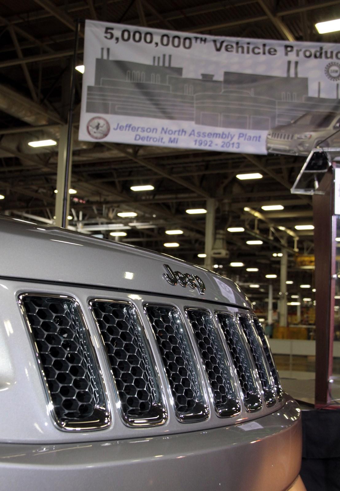 Η Jeep κατασκεύασε 5 εκατ. αυτοκίνητα στο Jefferson North ...