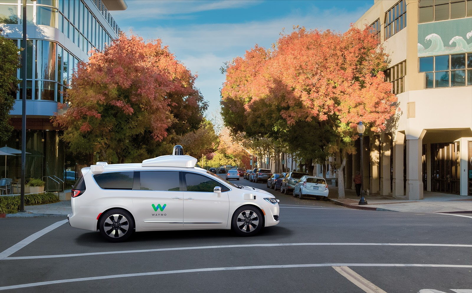 Chrysler Pacifica Hybrid Google Waymo (3)