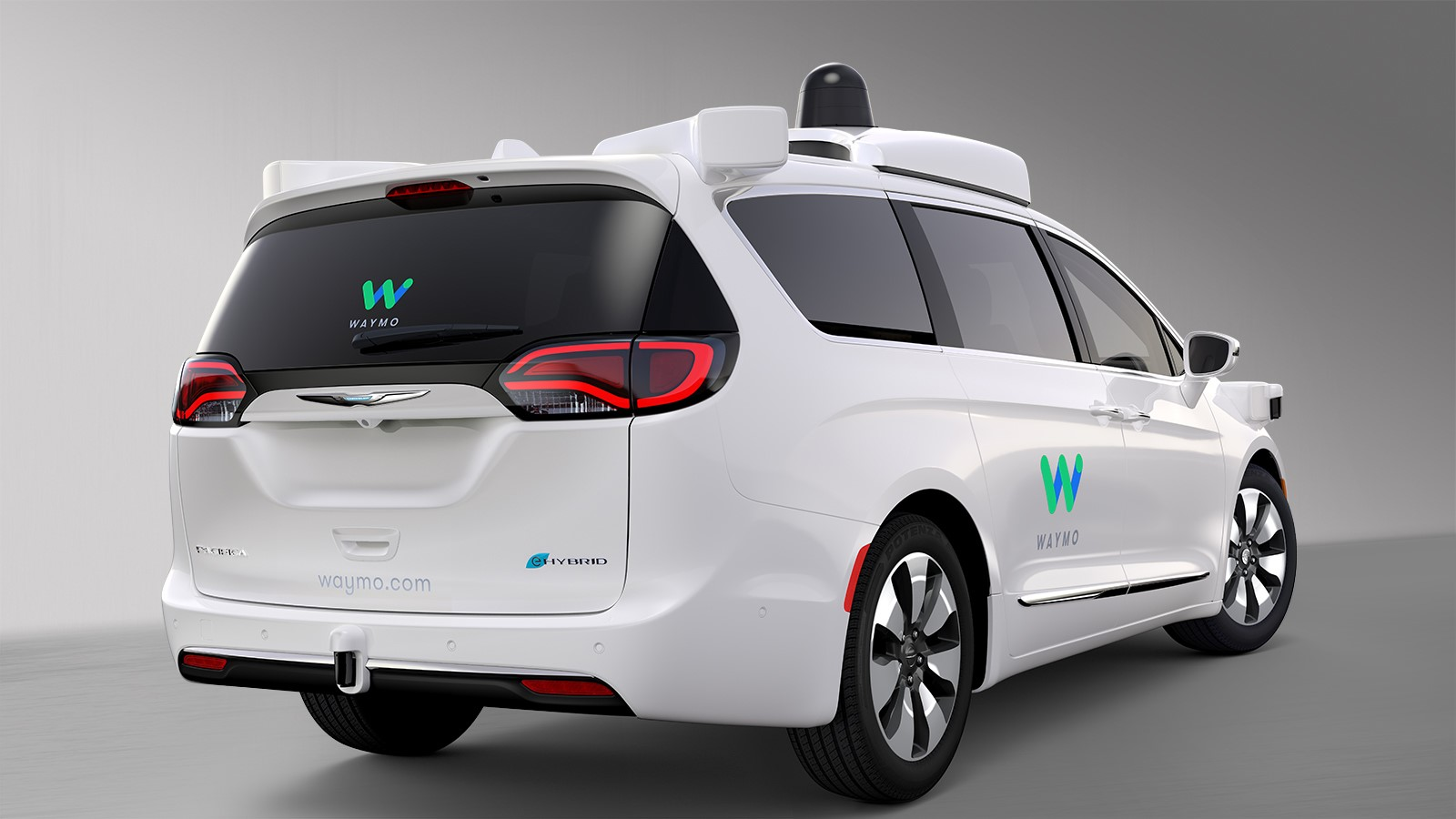 Chrysler Pacifica Hybrid Google Waymo (4)