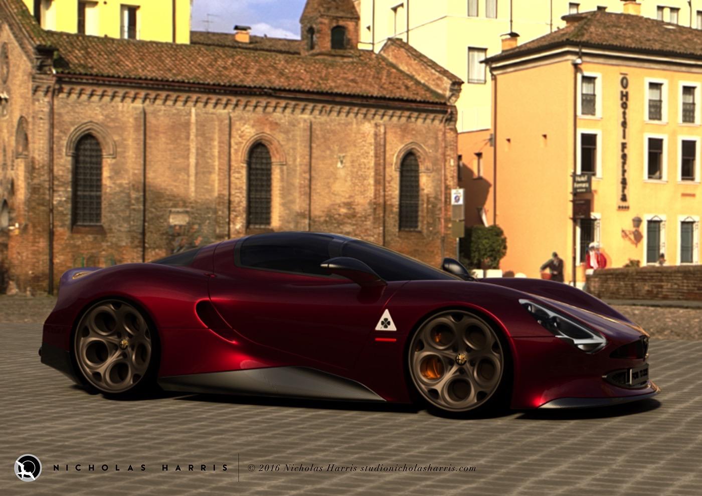 Alfa Romeo Tipo 66 Stradale (1)