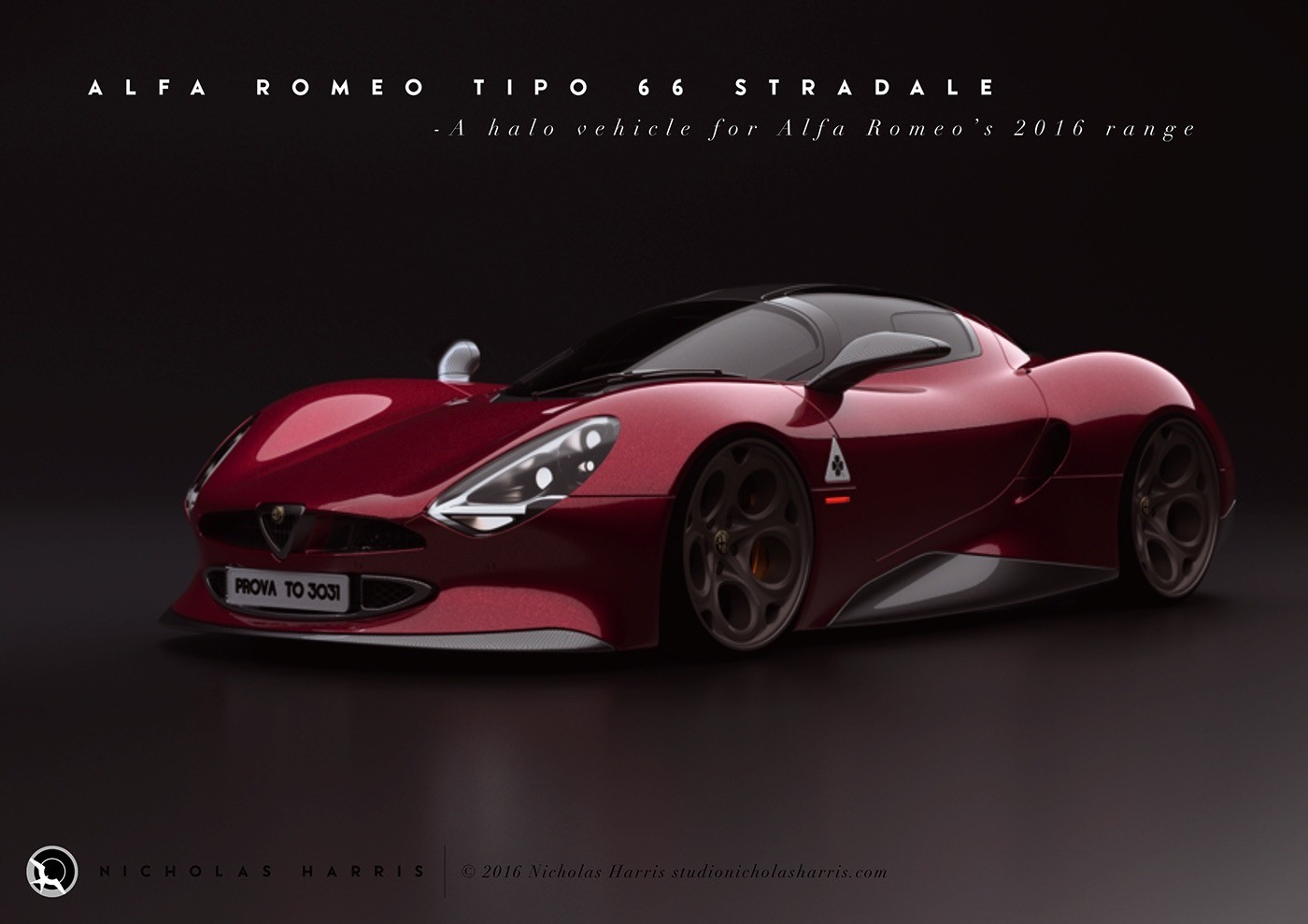 Alfa Romeo Tipo 66 Stradale (2)
