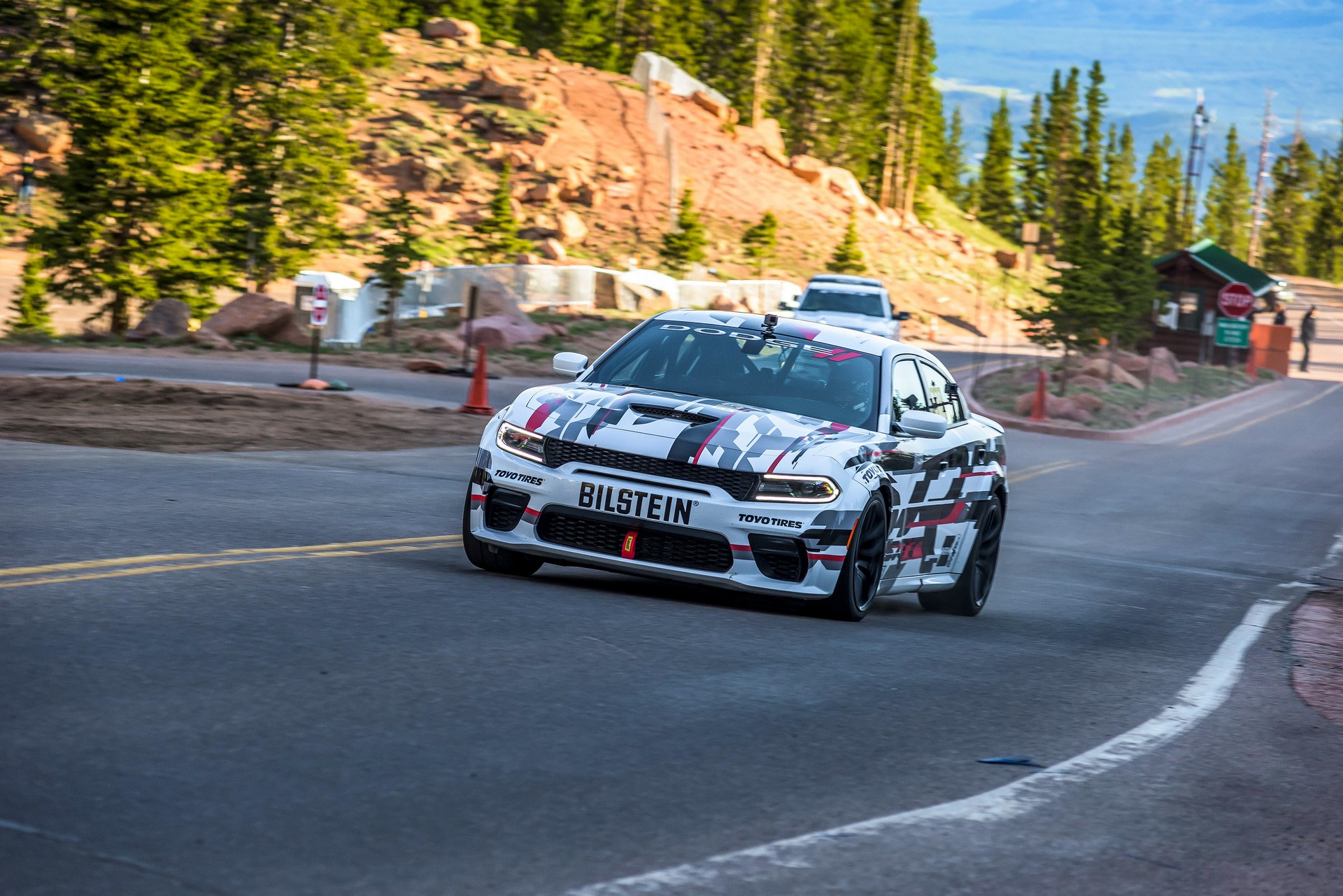 Race-prepped, one-off concept version of newly unveiled 2020 Dodge Charger SRT Hellcat Widebody is competing in the Exhibition Class of the world-renowned 97th Pikes Peak International Hill Climb in Colorado on Sunday, June 30