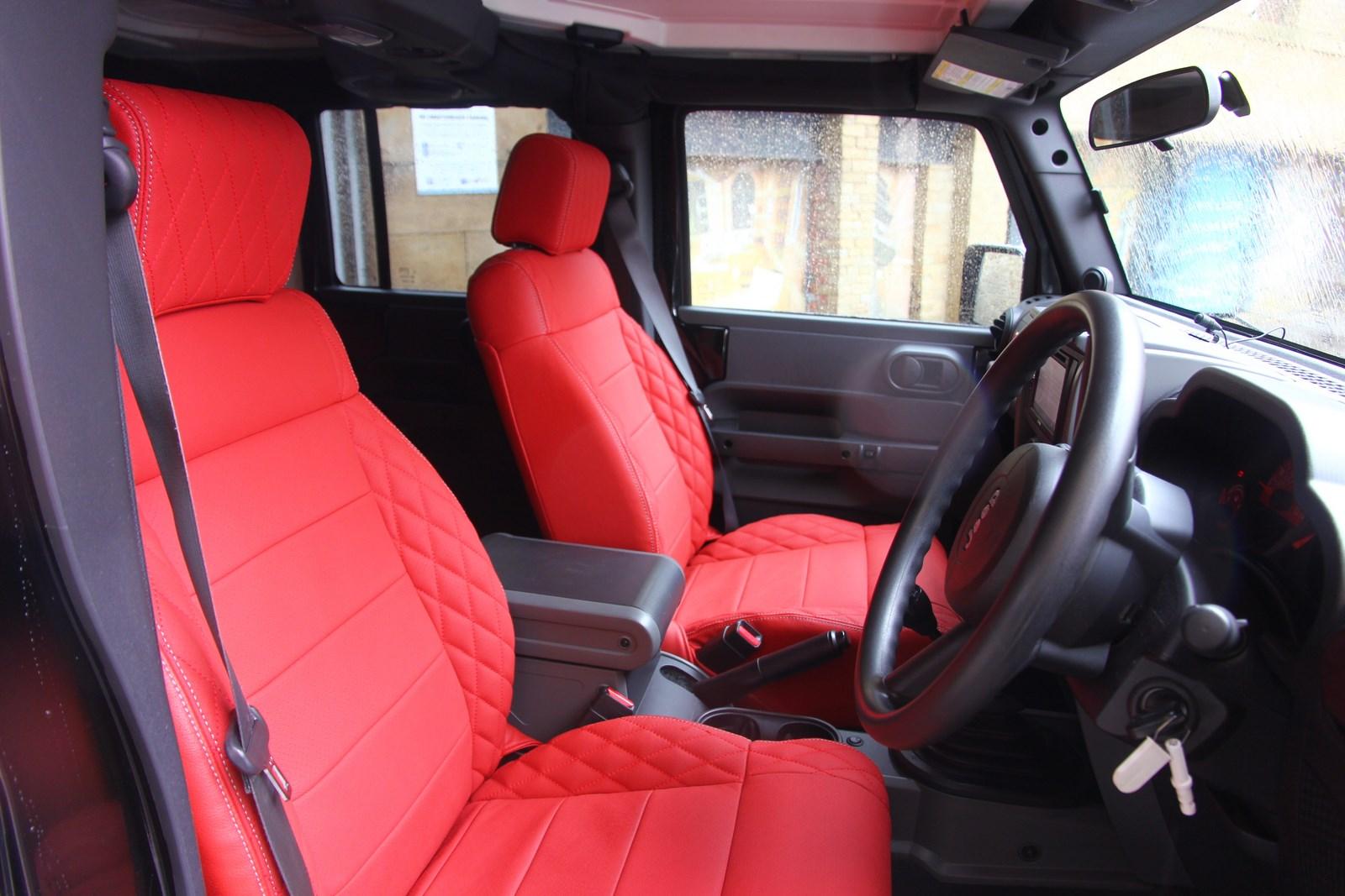 Test Drive: Jeep Wrangler by A.Kahn design