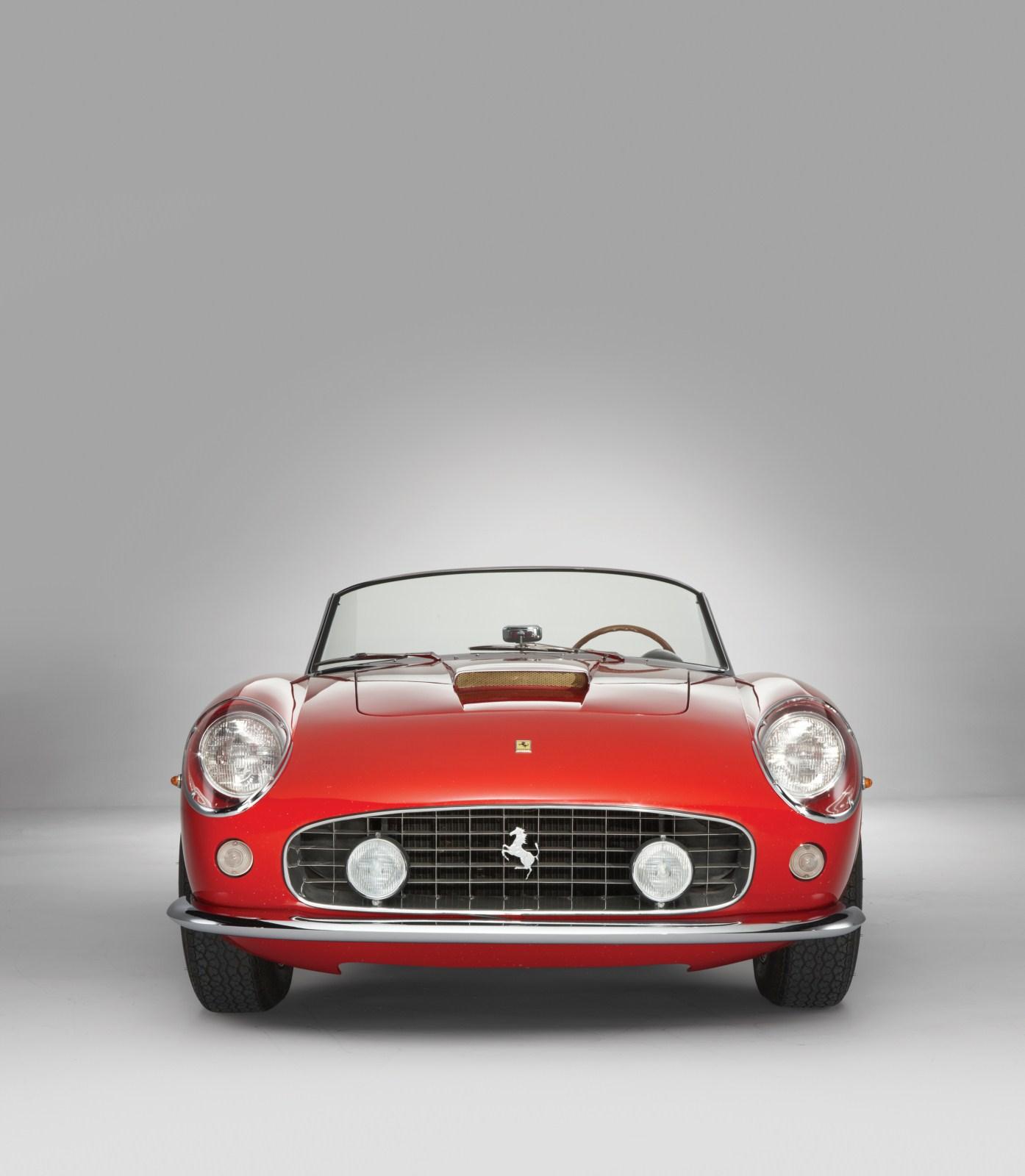 Μια Ferrari 250 GT SWB California Spyder 1962, μια