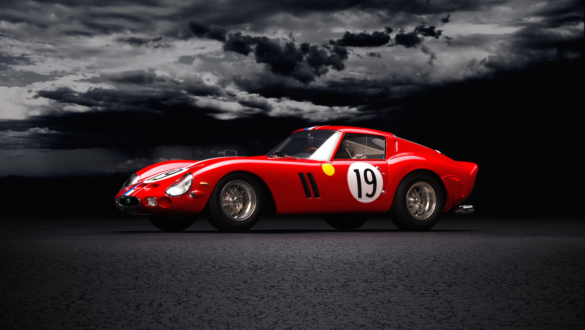 Ferrari 250 GTO amalgam miniature (1)