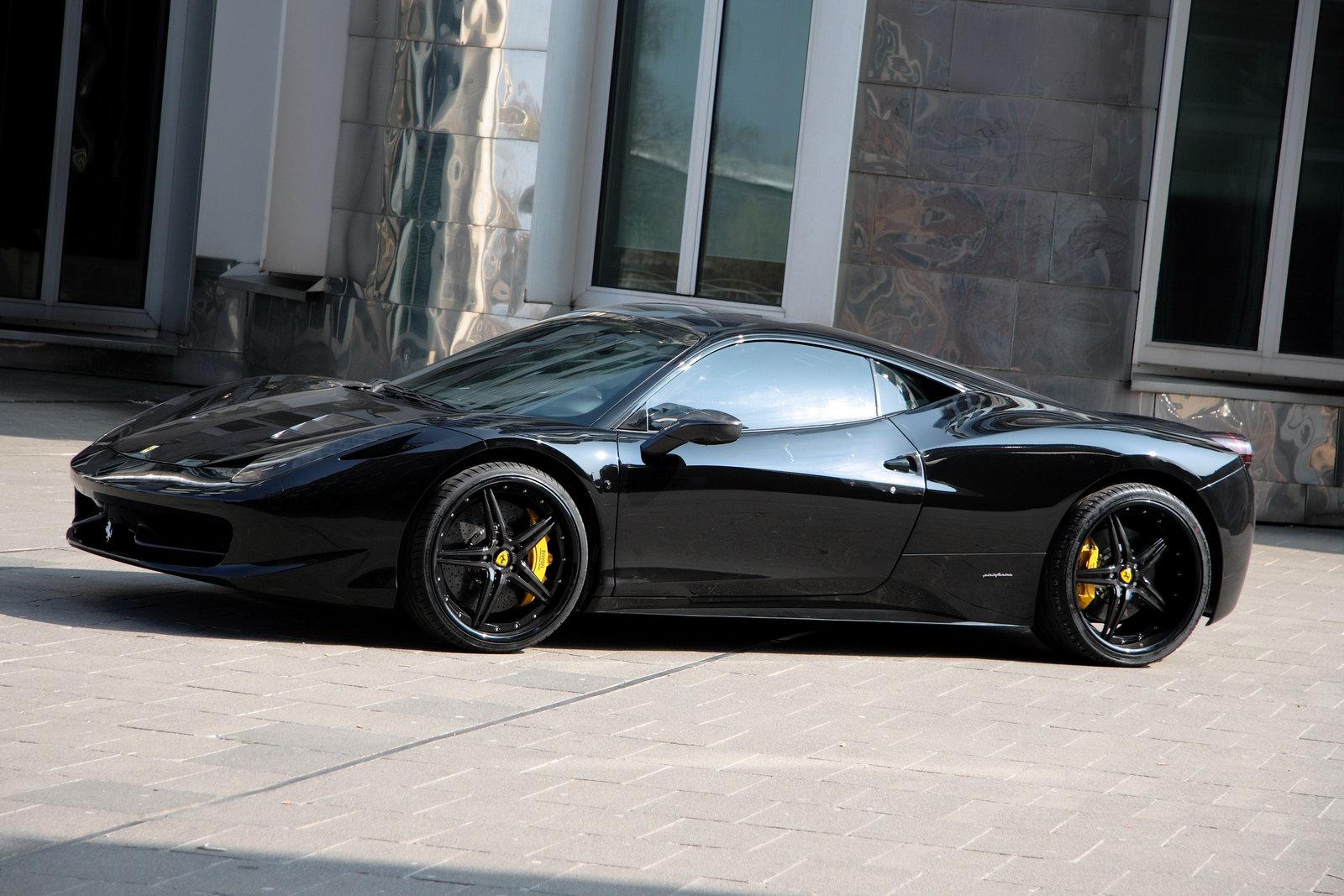 ferrari 458 italia anderson germany black carbon edition - Black Ferrari 458 Italia