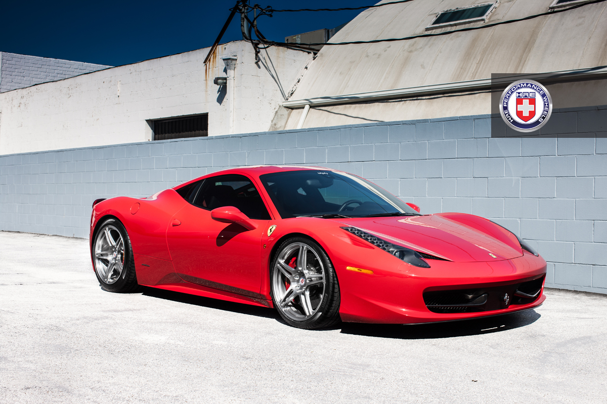 Ferrari 458 with HREs