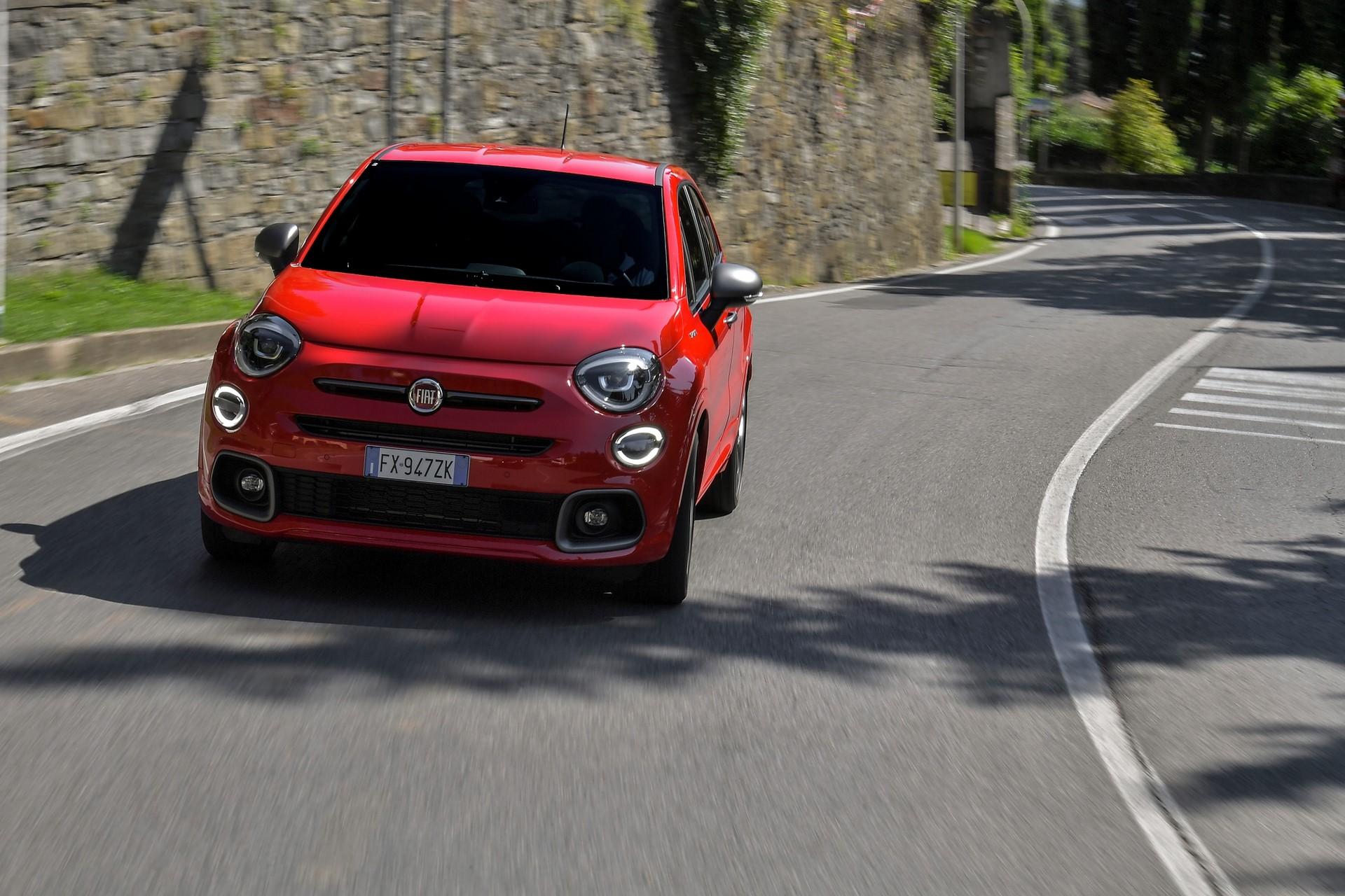 Presentazione della nuova Fiat  500x Sport
