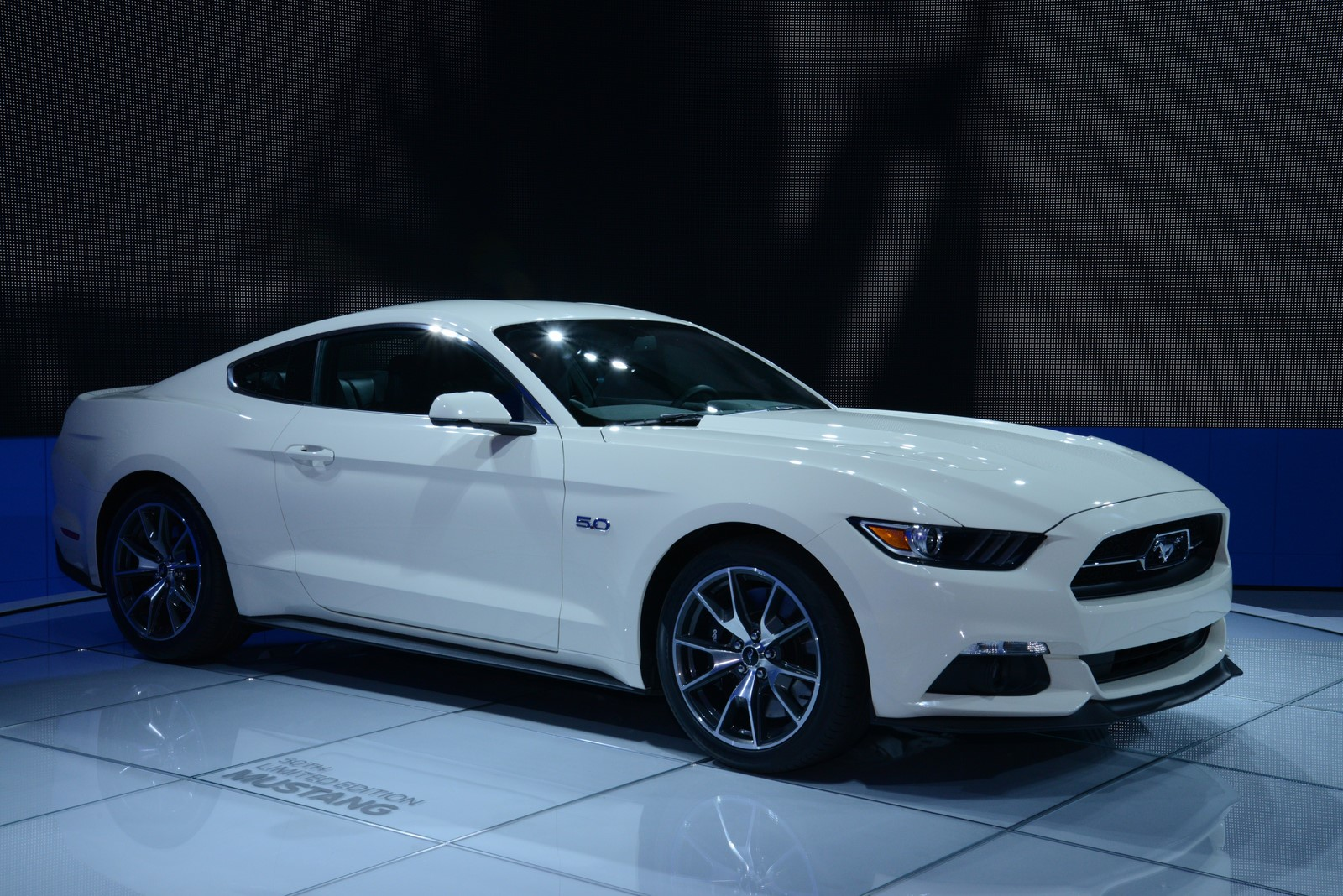 ford mustang 50 year limited edition. Black Bedroom Furniture Sets. Home Design Ideas