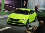 Skoda VisionC Concept live in Geneva 2014